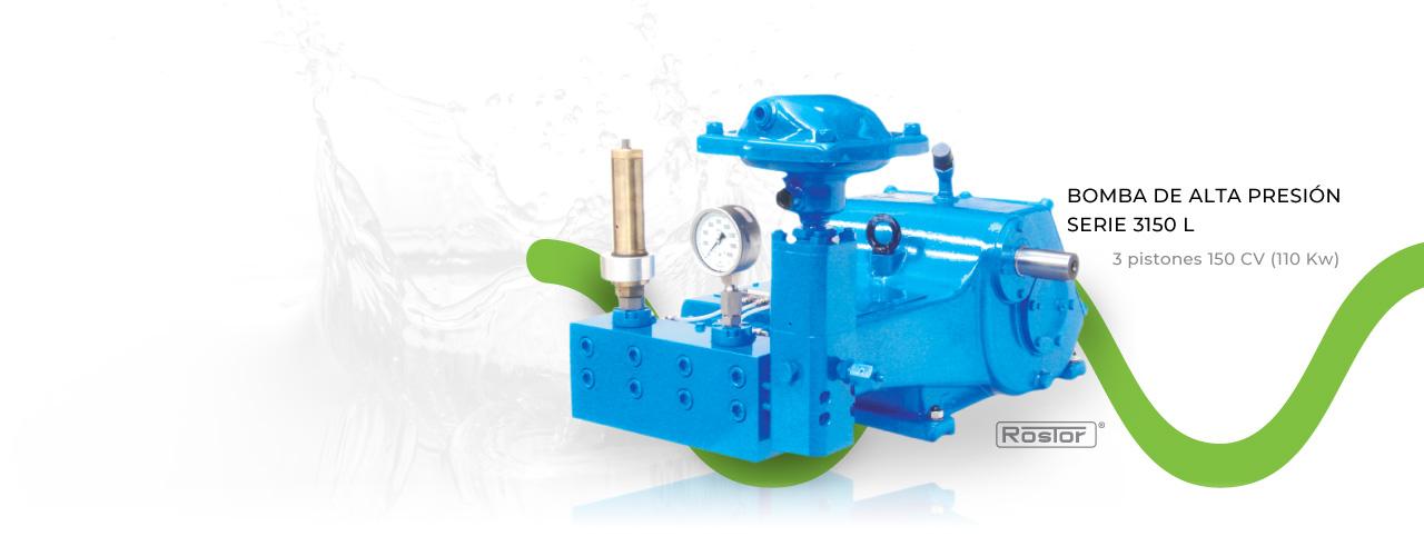 Soluciones en sistemas de bombeo de agua a alta presión
