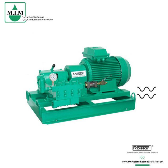 Equipos Agua Alta Presión | Multisistemas Industriales de México